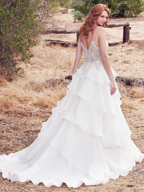 Maggie Sottero Wedding Dress Cambrie (7MS960)