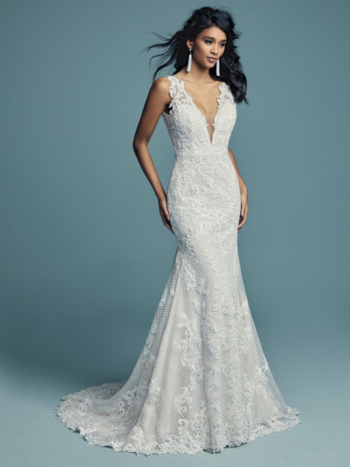 Maggie Sottero Wedding Dress Hailey (8MC695)