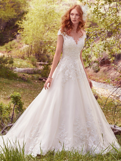 Maggie Sottero Wedding Dress Lena (7MZ340)