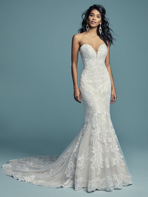 Maggie Sottero Wedding Dress Luanne (8MS799)