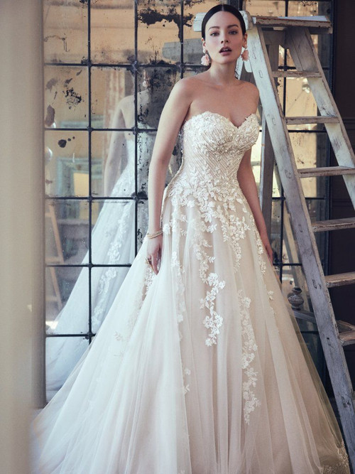 Maggie Sottero Wedding Dress Zinaida (9MC024)