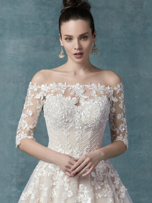 Maggie Sottero Wedding Zinaida Jacket (YYJK+9MC024)