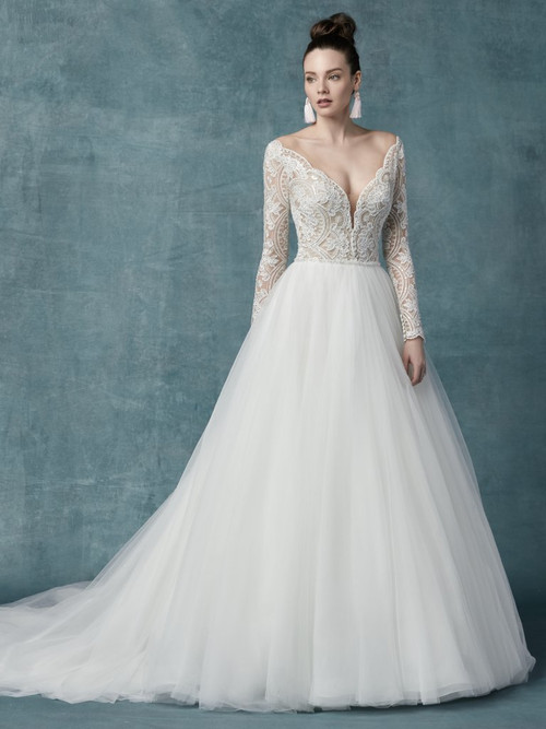 Maggie Sottero Wedding Dress Mallory Dawn (9MS114)