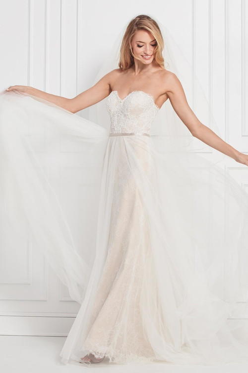 WTOO Wedding Dress Gennessy Beaded