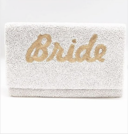Bride Shiny Clutch