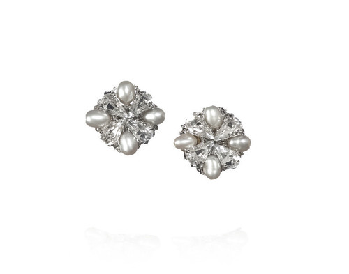 Grace Pearl Stud Earrings Extra Small