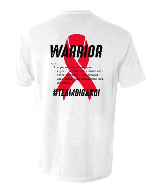 Team DiGangi | Warrior Tee