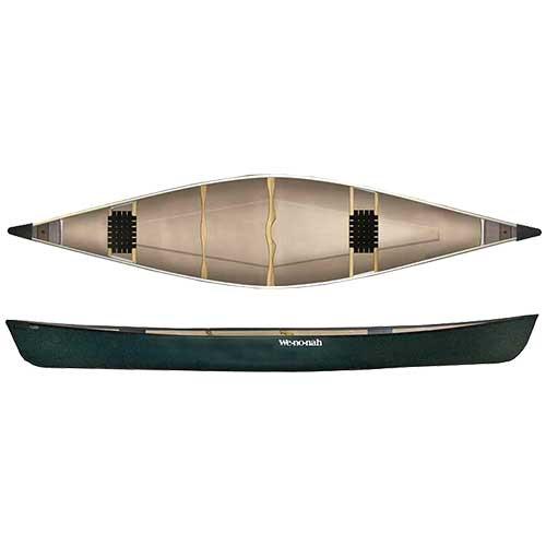 Kingfisher 16' Two Seat Canoe - Sports & Leisure