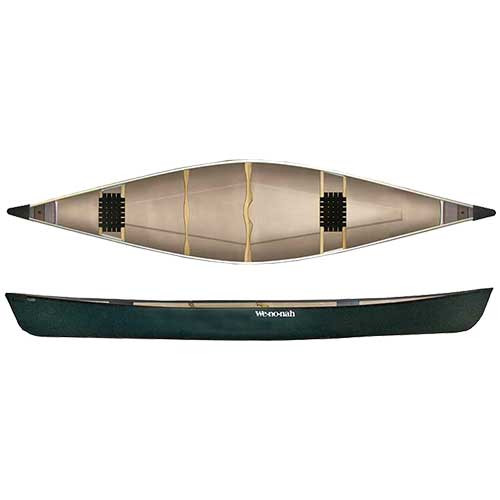 Kingfisher 16' Two Seat Canoe - Sports & Leisure