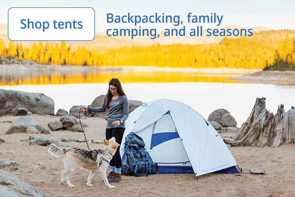 Shop tents for any season
