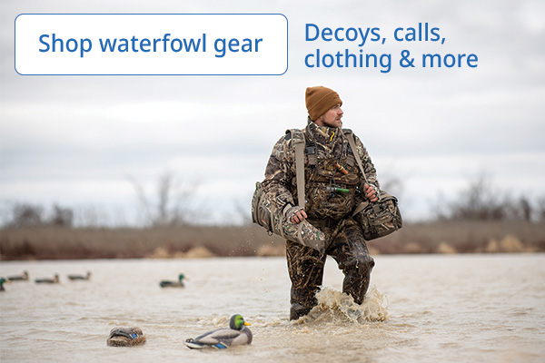 Waterfowl Gear fully stocked