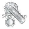 1/4-20X3/4  Serrated Hex Flanged Washer Full Thread Grade 5 w/Head Markings Zinc (Box Qty 2500)  BC-1412MWW5
