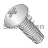 6-32X1/2  Phil Full Contour Truss Thread Cutting Screw Type F Fully Threaded 18-8 S/steel (Box Qty 5000)  BC-0608FPT188