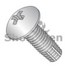 10-24X1/2  Phil Full Contour Truss Thread Cutting Screw Type F Fully Threaded 18-8 S/steel (Box Qty 4500)  BC-1008FPT188