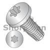 1/4-20X3/4  Six Lobe Pan Thread Cutting Screw Type F Fully Threaded 18 8 Stainless Steel (Box Qty 1500)  BC-1412FTP188