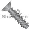 4-24X1/2  Phillips Flat High Low Screw Fully Threaded Black Zinc And Bake (Box Qty 10000)  BC-0408HPFBZ