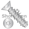 6-19X5/8  6 Lobe Flat High Low Screw Fully Threaded 18 8 Stainless Steel (Box Qty 5000)  BC-0610HTF188