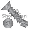 4-24X1/2  6 Lobe Flat High Low Screw Fully Threaded Black Zinc And Bake (Box Qty 10000)  BC-0408HTFBZ