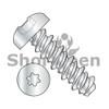 2-32X5/16  Six Lobe Pan High Low Screw Fully Threaded Zinc and Bake (Box Qty 10000)  BC-0205HTP