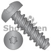 10-16X3/4 #8HD  Six Lobe Pan High Low Screw Fully Threaded Black Oxide (Box Qty 5000)  BC-1012HTPB
