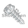 8-18X3/8  Combination(Slot/Phil) Hex Washer Self Drill Screw Full Thread Zinc Bake (Box Qty 10000)  BC-0806KCW