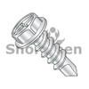 8-18X1/2  Combination(Slot/Phil) Hex Washer Self Drill Screw Full Thread Zinc Bake (Box Qty 10000)  BC-0808KCW