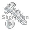 8-18X3/4  6 Lobe Pan Full Thread Self Drilling Screw 18-8 Stainless Steel (Box Qty 4500)  BC-0812KTP188