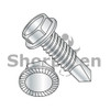8-32X1/2  Unslotted Ind Hex washer Serrated Self Drilling Screw Full Thread Zinc Bake (Box Qty 10000)  BC-0808KWSMS