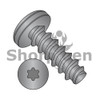 4-20X3/8  6 Lobe Pan Plastite 48-2 Alternative Fully Threaded Black Zinc Bake &  Wax (Box Qty 10000)  BC-0406LTPBZ