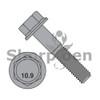 M6-1.0X25  DIN 6921 Class 10.9 Metric Flange Bolt Screw Non Serrated Black Phosphate (Box Qty 1000)  BC-M625BF10BP