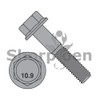 M6-1.0X40  DIN 6921 Class 10.9 Metric Flange Bolt Screw Non Serrated Black Phosphate (Box Qty 800)  BC-M640BF10BP