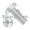 6-32X1/4  Combination Slot/Phil Binding Undercut Machine Screw Full Threaded Zinc (Box Qty 10000)  BC-0604MCB