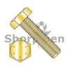 1/4-20X2  Hex Tap Bolt Grade 8 Fully Threaded Zinc Yellow (Box Qty 1200)  BC-1432BHT8