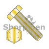 1/4-20X4 1/2  Hex Tap Bolt Grade 8 Fully Threaded Zinc Yellow (Box Qty 450)  BC-1472BHT8