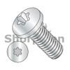 M3-0.5X8  Din 7985 Metric 6 Lobe Pan Head Machine Screw Full Thread Zinc Rohs (Box Qty 4000)  BC-M38MTP