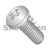 0-80X3/16  Phillips Pan Machine Screw Fully Threaded 18-8 Stainless Steel (Box Qty 5000)  BC--003MPP188