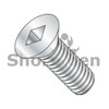 10-24X1 1/4  Square Drive Flat Head Machine Screw Fully Threaded Zinc (Box Qty 4000)  BC-1020MQF