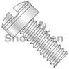 10-32X1/2  MS35276, Military  Drilled Fillister MS Screw Fine Thread 300 Series S/S DFAR (Box Qty 250)  BC-MS35276-263