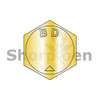 B1/4-20X7/8  MS90728, Alloy Steel B1821 Coarse Cap Screw Per ASTM A354BD Zinc Yellow DFAR (Box Qty 2500)  BC-BH025C088N
