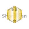 B1/4-20X1 1/8  MS90728, Alloy Steel B1821 Coarse Cap Screw Per ASTM A354BD Zinc Yellow DFAR (Box Qty 1000)  BC-BH025C113N