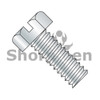 4-40X3/8  Slotted Indented Hex Head Machine Screw Fully Threaded Zinc (Box Qty 10000)  BC-0406MSH