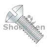 6-32X1/4  Slotted Oval Machine Screw Fully Threaded Zinc (Box Qty 10000)  BC-0604MSO