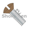 6-32X1/2  Slotted Oval Machine Screw Fully Threaded Zinc with Brown Painted Head (Box Qty 10000)  BC-0608MSOBR