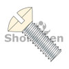 6-32X1/2  Slotted Oval Machine Screw Fully Threaded Zinc with Ivory Painted Head (Box Qty 10000)  BC-0608MSOIV