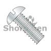 2-56X1/2  Slotted Round Machine Screw Fully Threaded Zinc (Box Qty 10000)  BC-0208MSR
