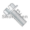 4-40X1/4  Slotted Indented Hex Washer Head Machine Screw Fully Threaded Zinc (Box Qty 10000)  BC-0404MSW