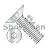 4-40X1/4  6 Lobe Flat 100 Degree Machine Screw Fully Threaded Zinc (Box Qty 10000)  BC-0404MT1