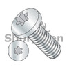 2-56X3/16  6 Lobe Pan Machine Screw Fully Threaded Zinc (Box Qty 10000)  BC-0203MTP