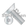 6-32X3/16  6 Lobe Flat Undercut Machine Screw Fully Threaded Zinc (Box Qty 10000)  BC-0603MTU