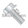 4-40X1  Unslotted Indented Hex Washer Head Machine Screw Fully Threaded Zinc (Box Qty 10000)  BC-0416MW